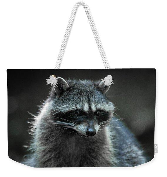 Raccoon 2 Weekender Tote Bag