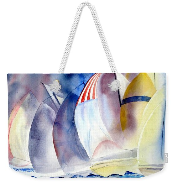 Race For The Mark Weekender Tote Bag