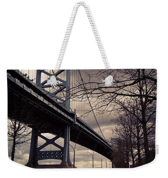 Race Street Pier Weekender Tote Bag