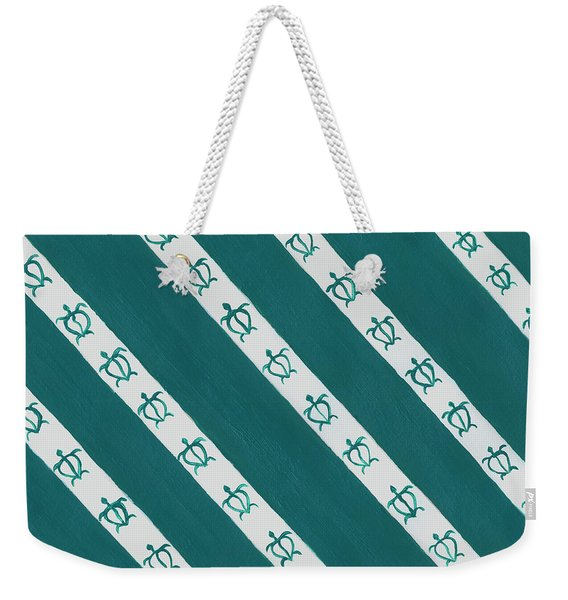 Race To The Sea Weekender Tote Bag