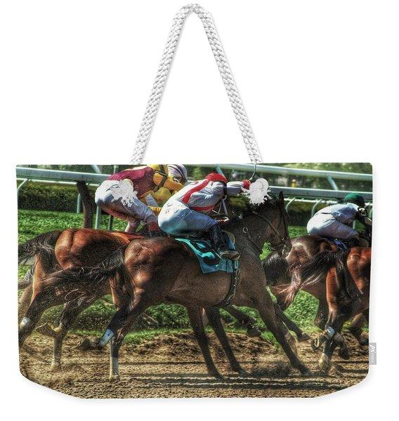 Racing Weekender Tote Bag