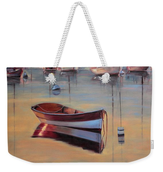 Radiant White Weekender Tote Bag