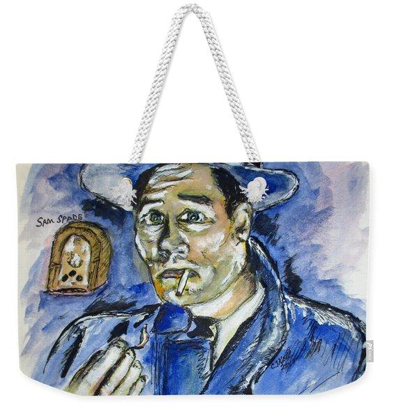 Radio's Sam Spade Weekender Tote Bag