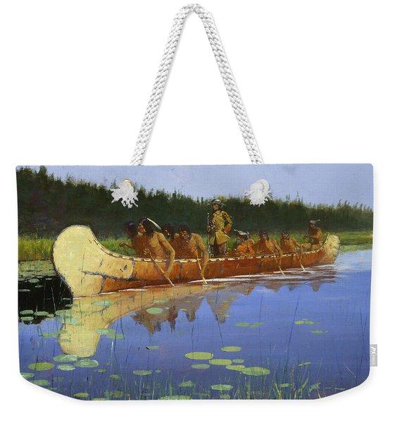 Radisson And Groseilliers Weekender Tote Bag