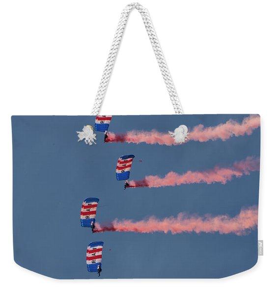 Raf Parachute Display Team Weekender Tote Bag