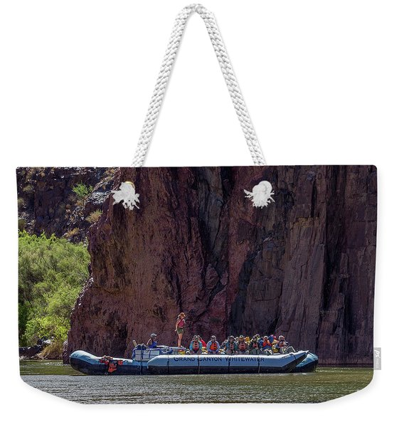 Rafters On The Colorado River, Grand Canyon Weekender Tote Bag