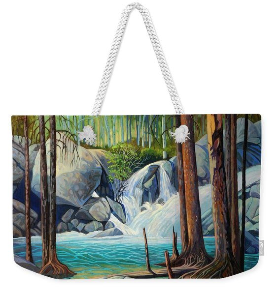 Raging Solitude Weekender Tote Bag