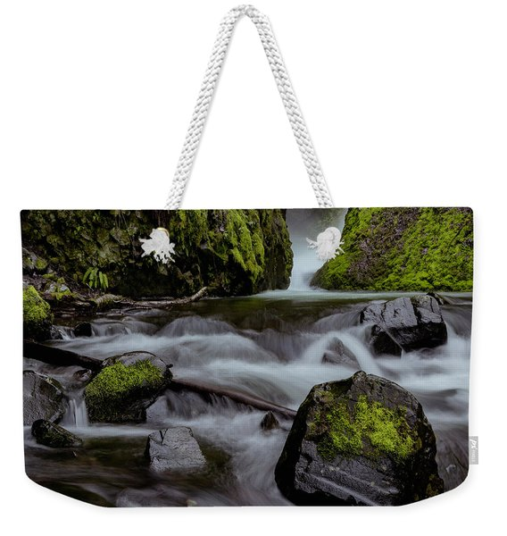 Raging Water Weekender Tote Bag