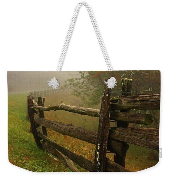 Rails Of Time Weekender Tote Bag