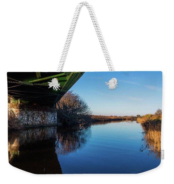 Railway Bridge Weekender Tote Bag