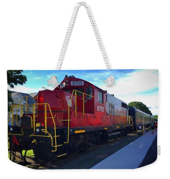 Blue Ridge Railway Weekender Tote Bag