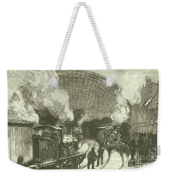 Railway Station  Weekender Tote Bag