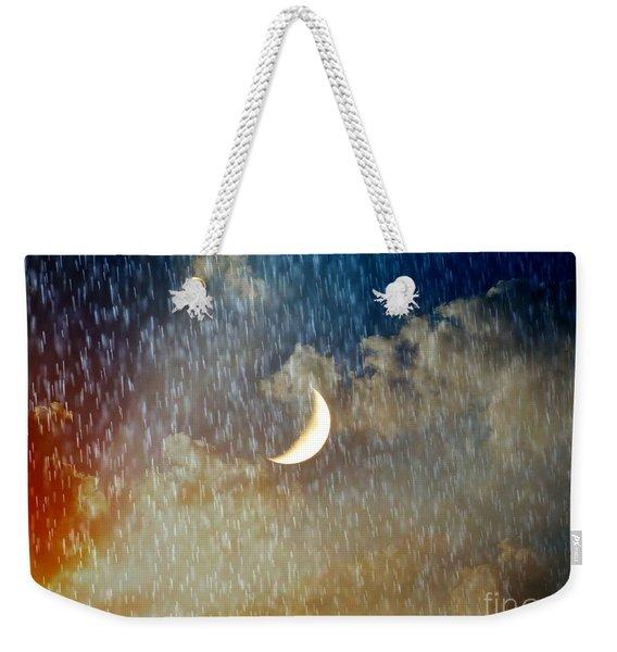 Rain Fall Weekender Tote Bag