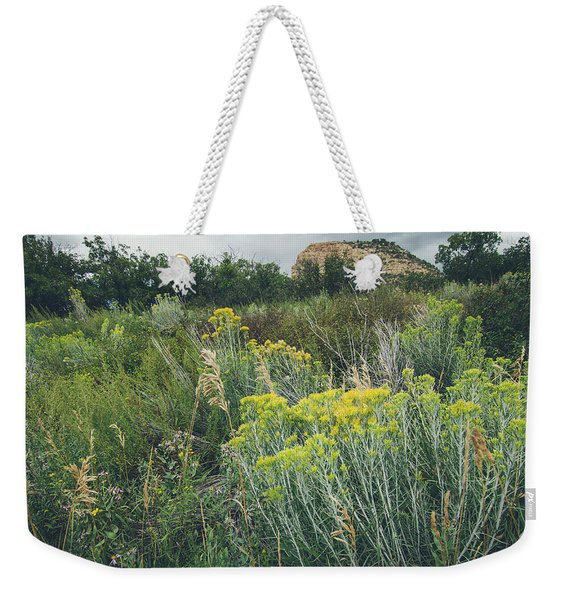 Rain Glow Weekender Tote Bag