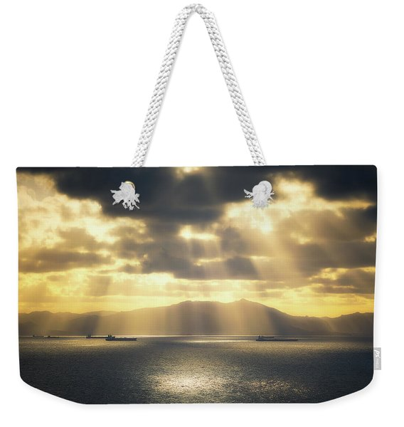 Rain Of Light Weekender Tote Bag
