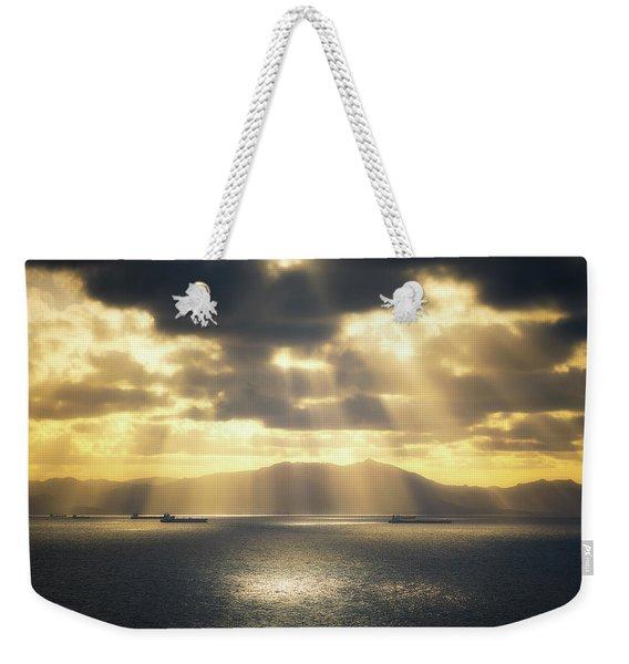 Rain Of Light Weekender Tote Bag