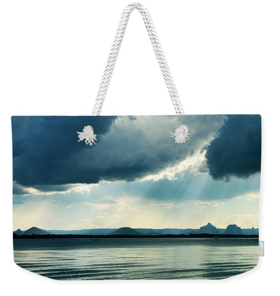 Rain On The Glass Mountains Weekender Tote Bag