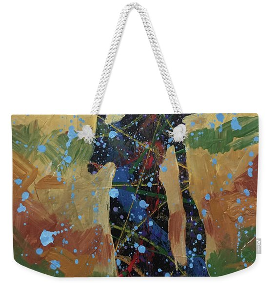 Rain On The Hill Weekender Tote Bag