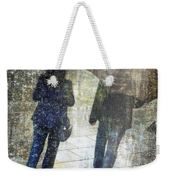 Rain Through The Fountain Weekender Tote Bag