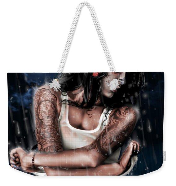 Rain When I Die Weekender Tote Bag
