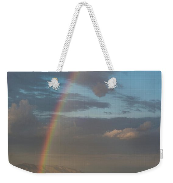 Rainbow Above Lagunas Weekender Tote Bag