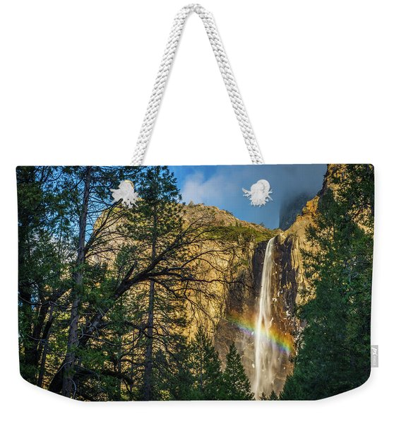 Rainbow And Bridalveil Fall Weekender Tote Bag