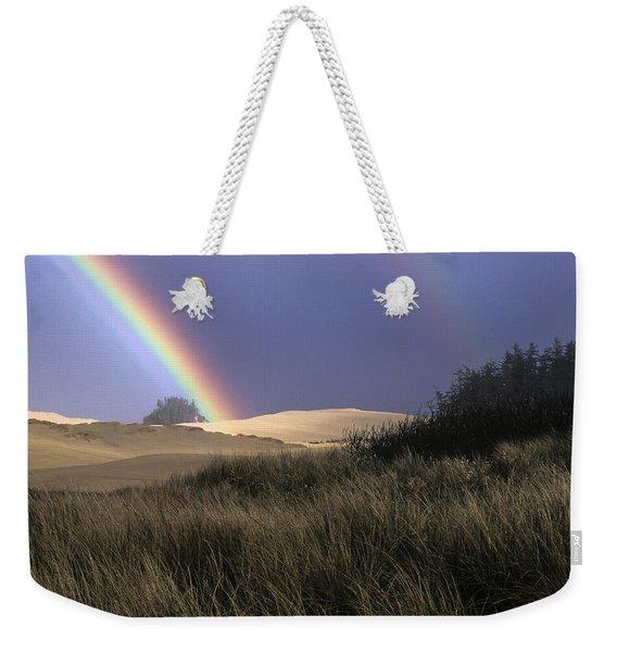 Rainbow And Dunes Weekender Tote Bag