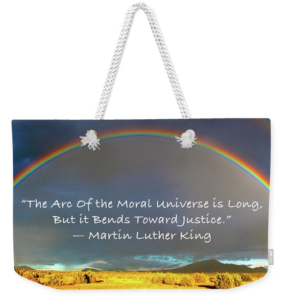 Martin Luther King - Justice Weekender Tote Bag