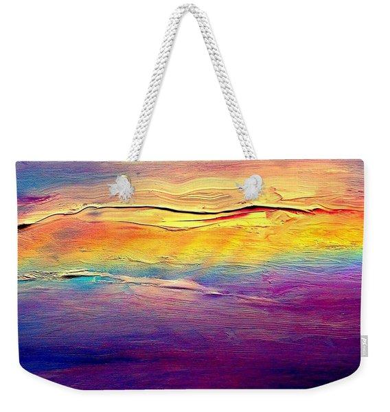 Rainbow Clouds Full Spectrum -dedicated                     Weekender Tote Bag