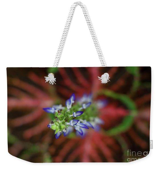 Rainbow Coleus Weekender Tote Bag