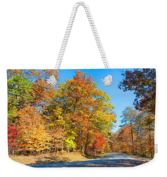 Rainbow Colored Drive Weekender Tote Bag