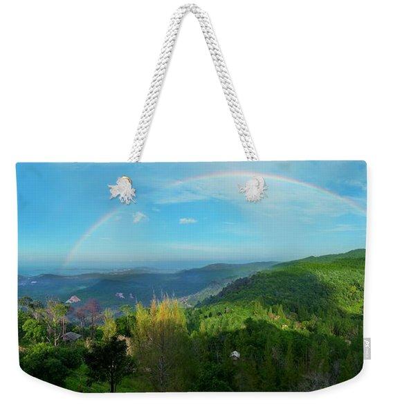 Rainbow Dream Weekender Tote Bag