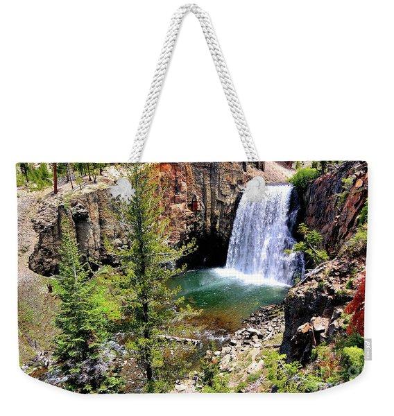 Rainbow Falls 1 Weekender Tote Bag