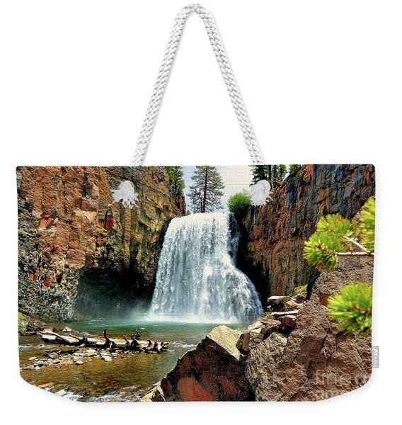 Rainbow Falls 15 Weekender Tote Bag