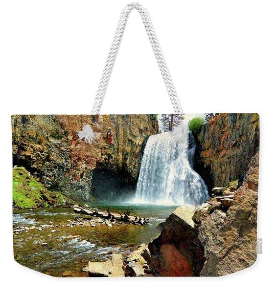 Rainbow Falls 2 Weekender Tote Bag