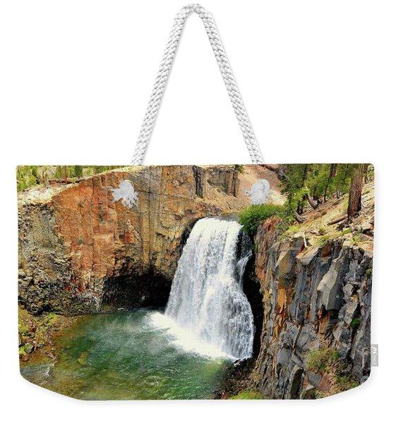 Rainbow Falls 3 Weekender Tote Bag