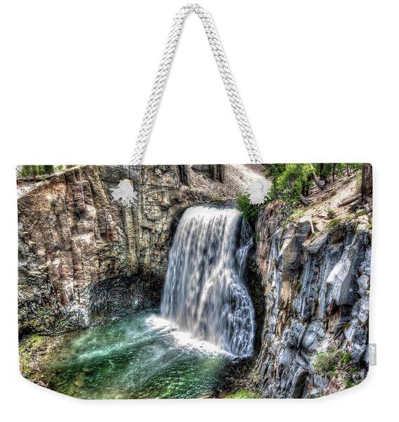 Rainbow Falls 5 Weekender Tote Bag