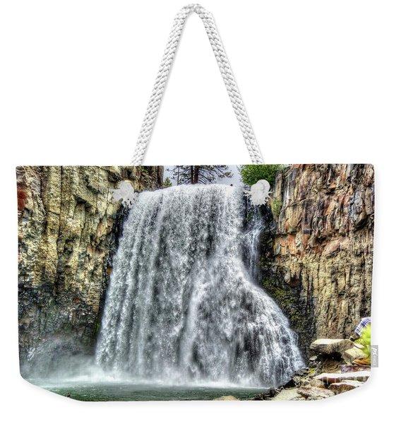 Rainbow Falls 7 Weekender Tote Bag