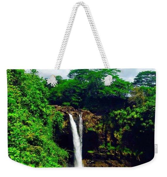 Rainbow Falls Hilo Hawaii Weekender Tote Bag
