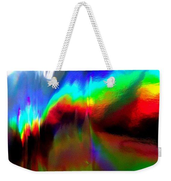 Rainbow Surprise Weekender Tote Bag