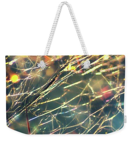 Rainbow Network Weekender Tote Bag