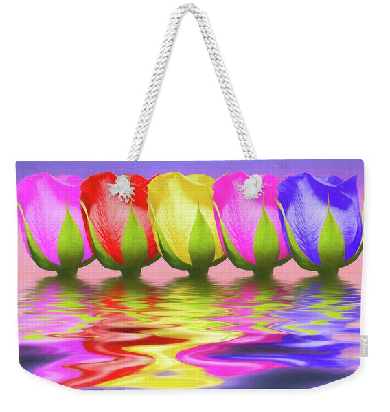 Rainbow Of Roses II Weekender Tote Bag