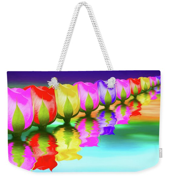 Rainbow Of Roses IIi Weekender Tote Bag