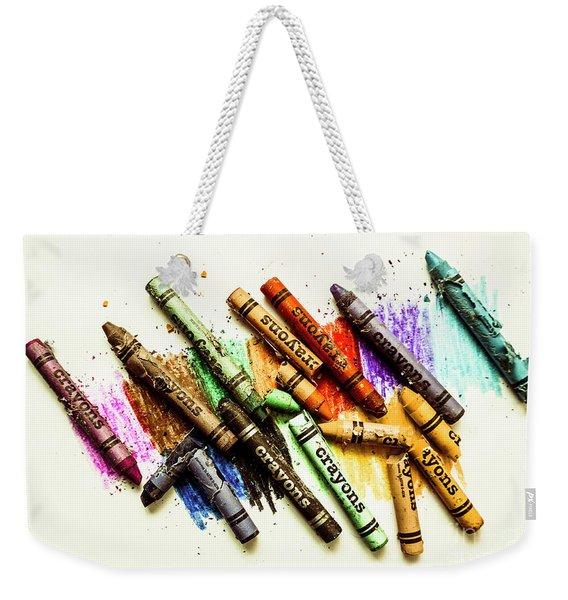 Rainbow Shades Weekender Tote Bag