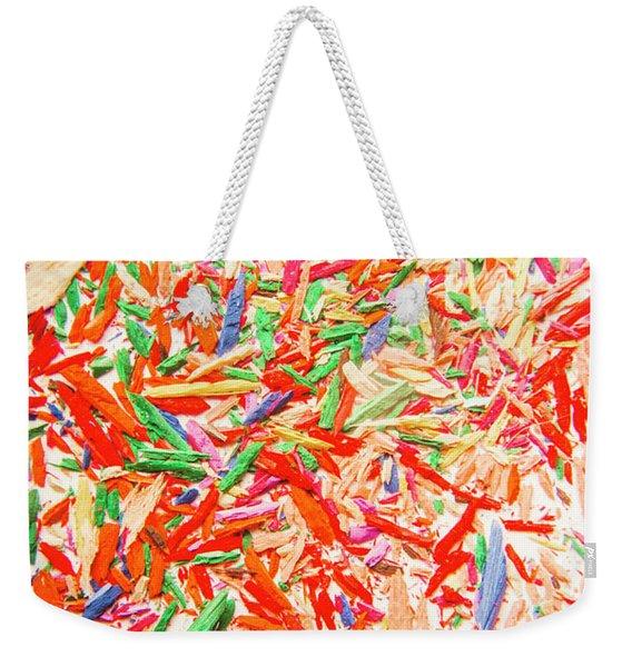 Rainbow Shatters  Weekender Tote Bag