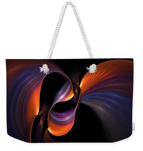 Rainbow Tango Weekender Tote Bag