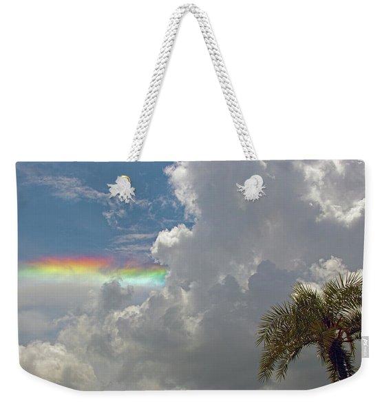 Rainbow To Nowhere Weekender Tote Bag