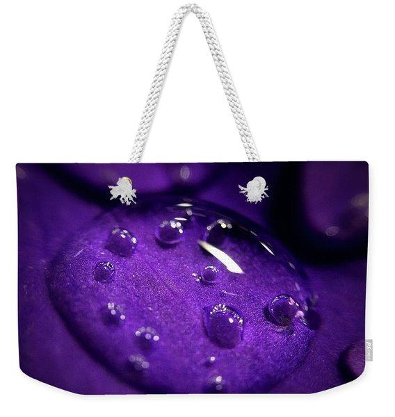 Raindrop, Prn Weekender Tote Bag