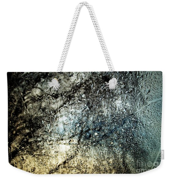 Raindrops On The Window Weekender Tote Bag