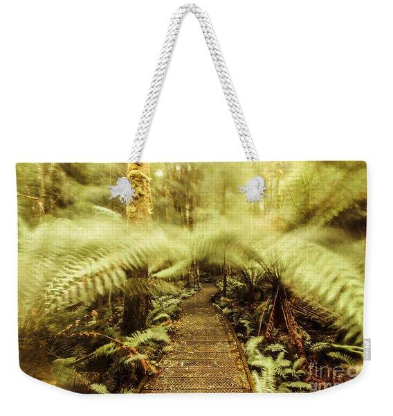 Rainforest Walk Weekender Tote Bag